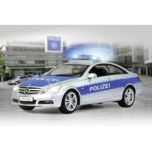 JAMARA MERCEDES-BENZ E-CLASS COUPE POLIZEI 1/16