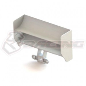 F1 REAR WING SET - WHITE 1/10 (FOR F1 BODY)