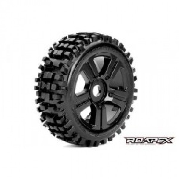 ROAPEX RHYTHM 1/8 BUGGY WHEEL/TIRE SET 1/8 off road