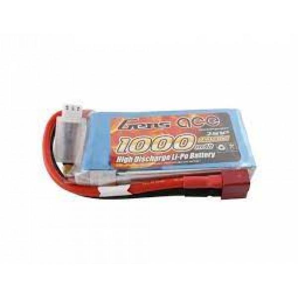 GENS ACE 1000mAh 7,4V 30C T-Plug (Deans) ΜΠΑΤΑΡΙΕΣ