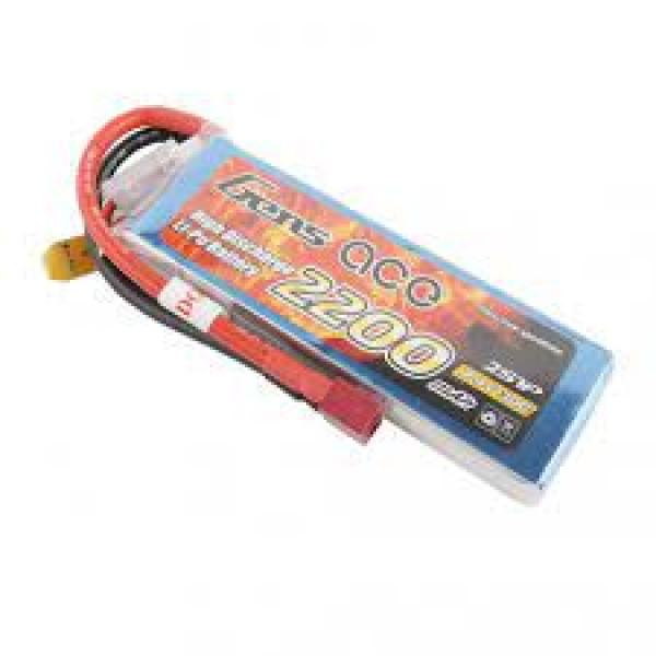 GENS ACE 2200mAh 7,4V 30C T-Plug (Deans) ΜΠΑΤΑΡΙΕΣ