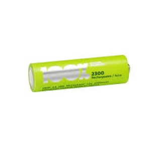 PEAKPOWER 100% NI-MH RECHARGEABLE BATTERIES AA 2300MAH (4PCS)