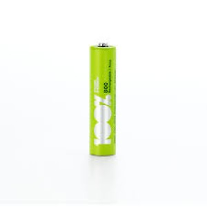 PEAKPOWER 100% NI-MH RECHARGEABLE BATTERIES AAA 800MAH (4PCS)